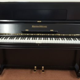 Grotrian-Steinweg 120 von 1927 in Black matt