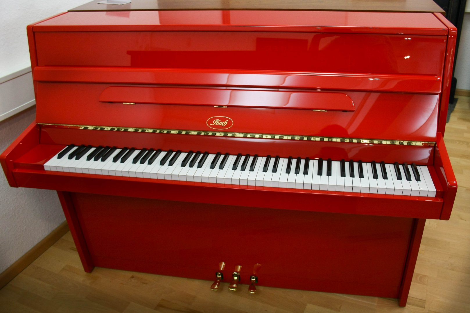 Ibach 111 cm von 1977 in Special colour glossy