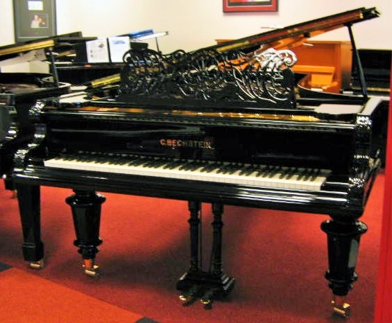 bechstein grand piano gebraucht von piano 39 s vleugel. Black Bedroom Furniture Sets. Home Design Ideas