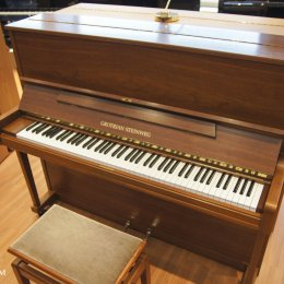 Grotrian-Steinweg 125 von 1984 in Walnut matt